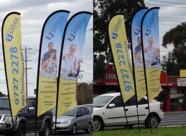 Outdoor Banners + Display Systems
